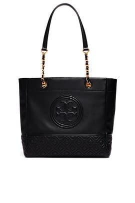 Black Fleming Tote by Tory Burch Accessories