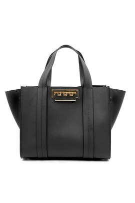Black Eartha Iconic Shopper by ZAC Zac Posen Handbags
