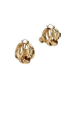 Bolvar Coiled Earrings by ELLERY Accessories