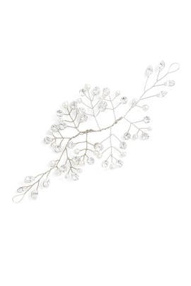 Silver Crystal Hair Vine by Ever by Happily Ever Borrowed