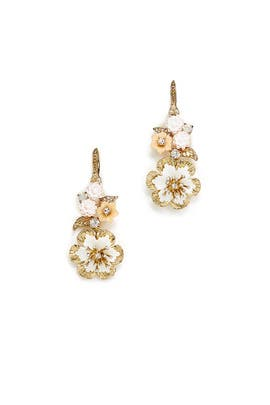 Force Of Nature Drop Earrings by Marchesa Jewelry