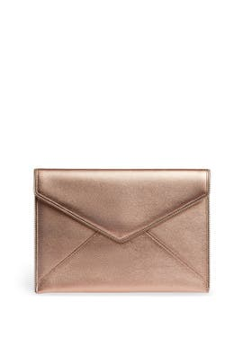 Rose Gold Leo Clutch by Rebecca Minkoff Accessories