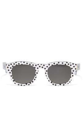 Silver Stars Sunglasses by Saint Laurent