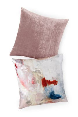 Abstract Blossoms Pillow Bundle by West Elm