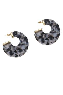 Rosarito Hoop Earrings by Ettika