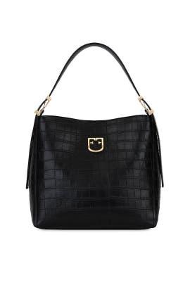 Onyx Belvedere Hobo Bag by Furla