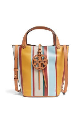 Miller Stripe Bucket Bag by Tory Burch Accessories