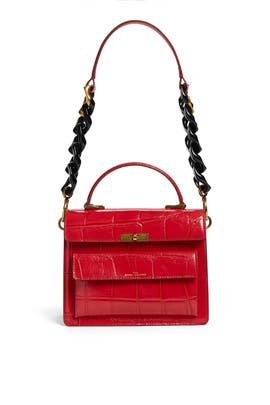 The Uptown Croc Bag by Marc Jacobs Handbags