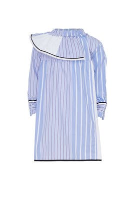 Kids Striped Ruffle Dress by Marni Kids