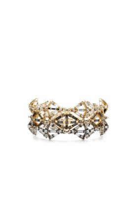 Gloria Plated Bracelet by Lulu Frost