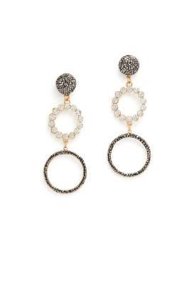 Grazia Hoop Earrings by Elise M.