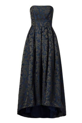 Madame Damask Dress by ML Monique Lhuillier