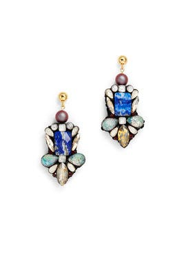 Parure Lapis Earrings by Nocturne