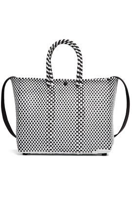 Woven Crossbody Tote by Truss