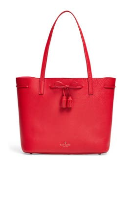 Red Nandy Bow Tote by kate spade new york accessories