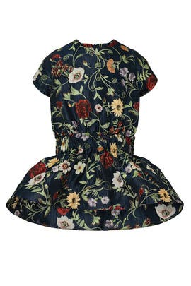 Kids Mixed Floral Dress by Oscar de la Renta Kids