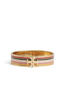 Printed Logo Bracelet by Tory Burch Accessories