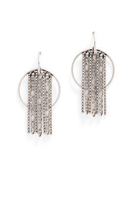 Bruni Circle Chain Earrings by Dannijo