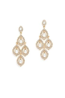 Teardrop Chandelier Earrings by Loren Olivia