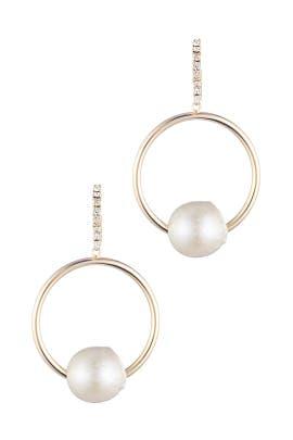 Gold Watts Earrings by Dannijo