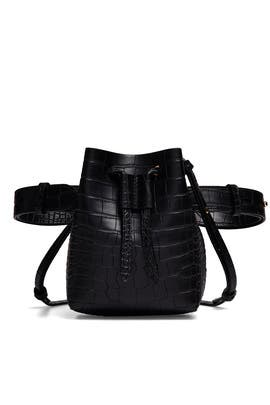 Black Minee Bucket Bag by Nanushka Accessories