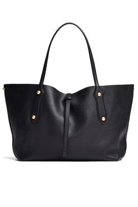 Black Isabella Tote by Annabel Ingall