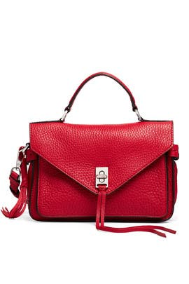 Red Darren Messenger Bag by Rebecca Minkoff Accessories