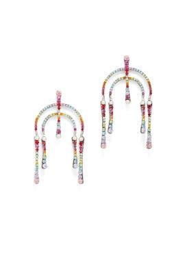 Multi Kamil Earrings by Dannijo
