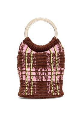 Pink Multi Crocet Praia Mini Bag by Rachel Comey Accessories
