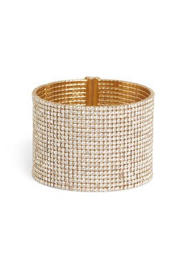Gold Brilliant Statement Bracelet by kate spade new york accessories