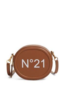 Leather Tamburello Crossbody by No. 21 Handbags