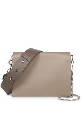 Almond Zep Box Bag by AllSaints