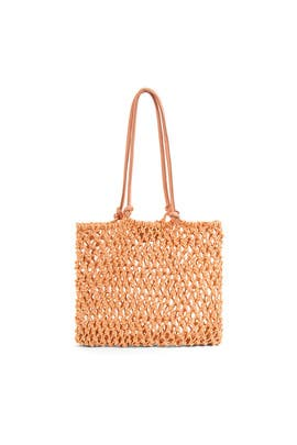 Sandy Woven Tote by Clare V.