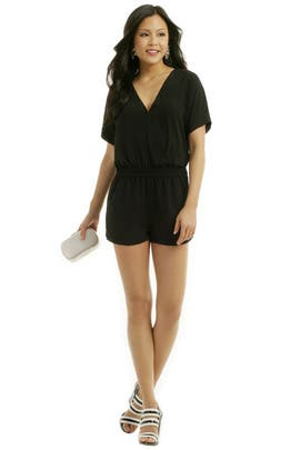 Like Clockwork Romper by BCBGMAXAZRIA
