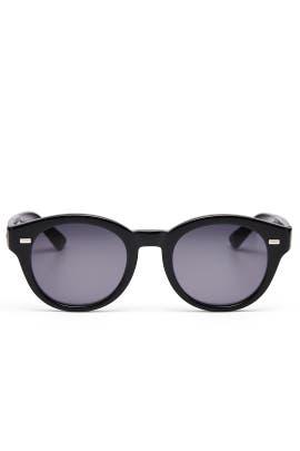 Black Round Sunglasses by Gucci