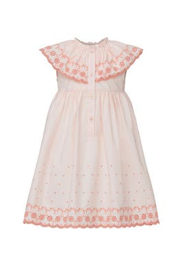 Kids Pink Eloisa Dress by Marie-Chantal