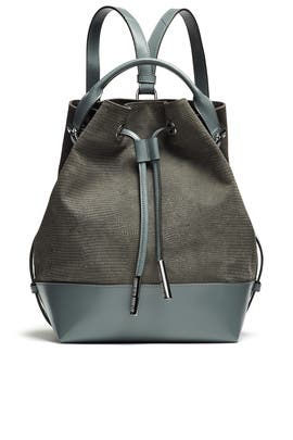 Izzy Lizard Embossed Backpack by Opening Ceremony Accessories