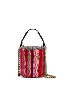 Cupcake Leather Bucket Bag by Kooreloo