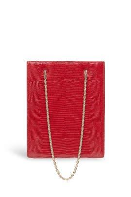 Crimson Antoinette Shopper Tote by Loeffler Randall