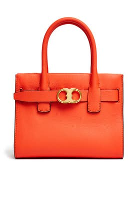 95d3bea03b023 Orange Gemini Link Small Tote by Tory Burch Accessories for  75 ...