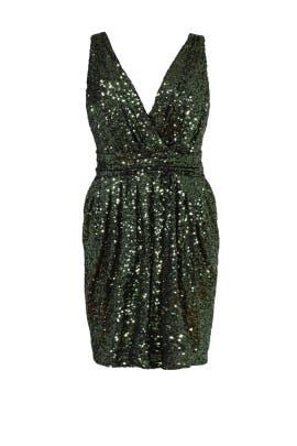 Sequin Garden Dress by Badgley Mischka