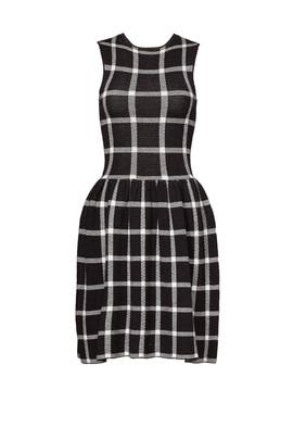 Mod Check Dress by 4.collective