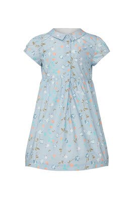 Kids Floral Eugenie Dress by Marie-Chantal