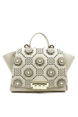 Sand Dollar Eartha Bag by ZAC Zac Posen Handbags