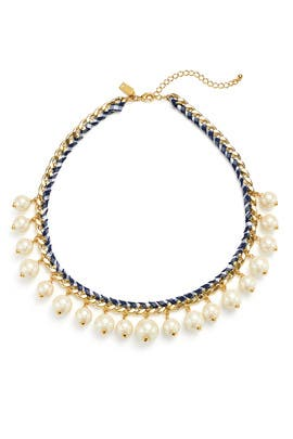 Navy Pearl Necklace by kate spade new york accessories