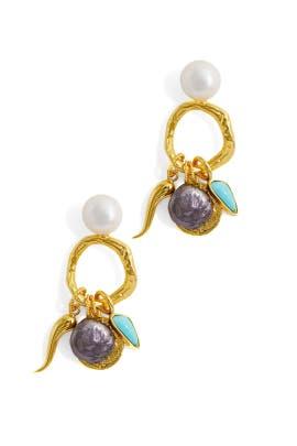 Alchemy Earrings by Lizzie Fortunato
