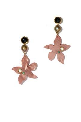 Portugal Poppy Earrings by Lizzie Fortunato