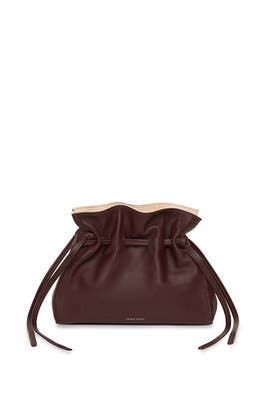 Cabernet Cleo Mini Protea Bag by Mansur Gavriel Accessories