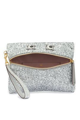 Glitter Circulus Eyes Clutch by Anya Hindmarch