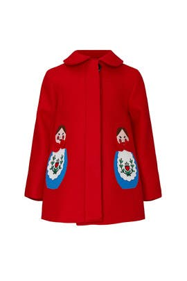 Kids Matryoshka Coat by Little Goodall
